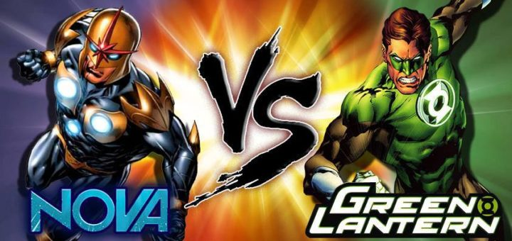 Nova vs Green Lantern