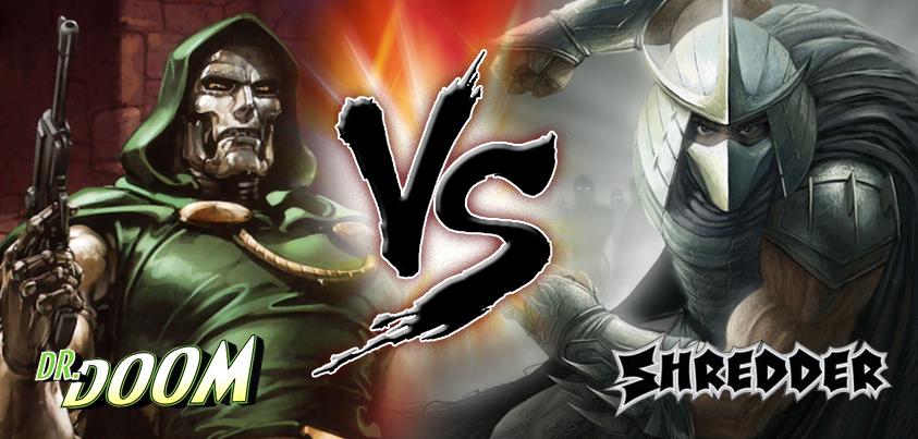 dr doom vs shredder