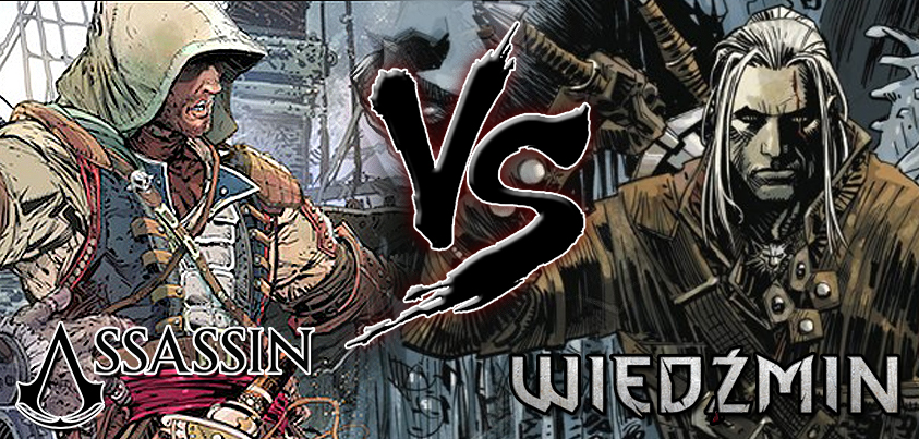 Assasin vs Wiedźmin