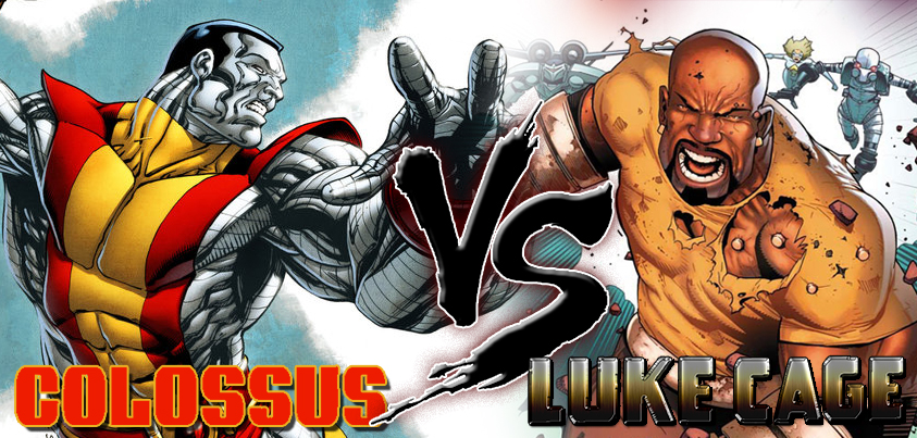 Colosus vs Luke Cage