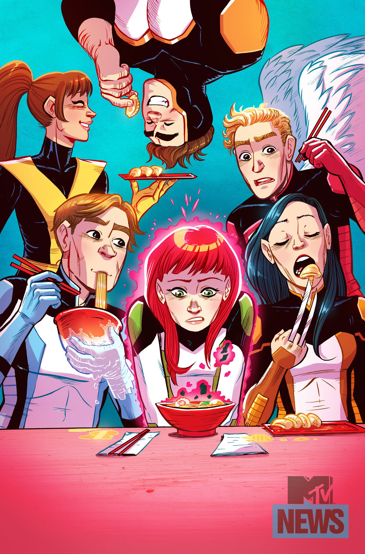 All-New X-Men #39 - Faith Erin Hicks, Paulina Ganuchea