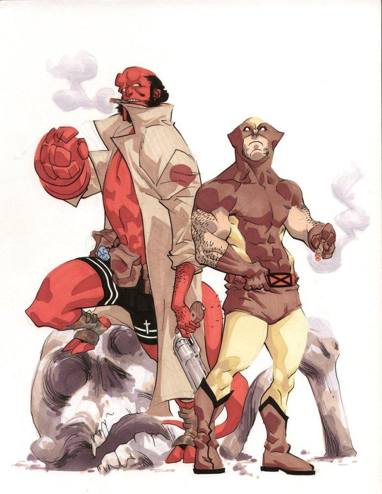 Hellboy i Logan