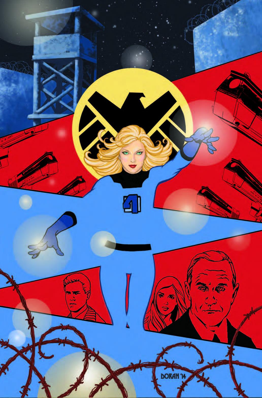 S.H.I.E.L.D. #4 by Colleen Doran
