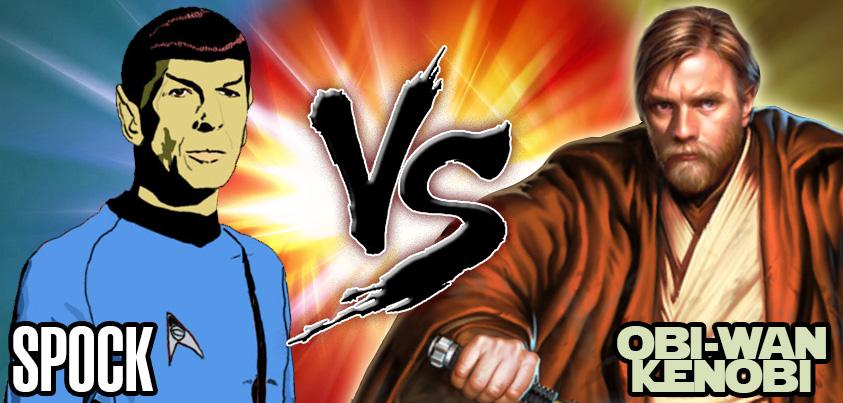 Spock vs ObiWanKenobi