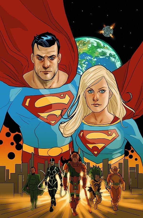 Superman-Supergirl