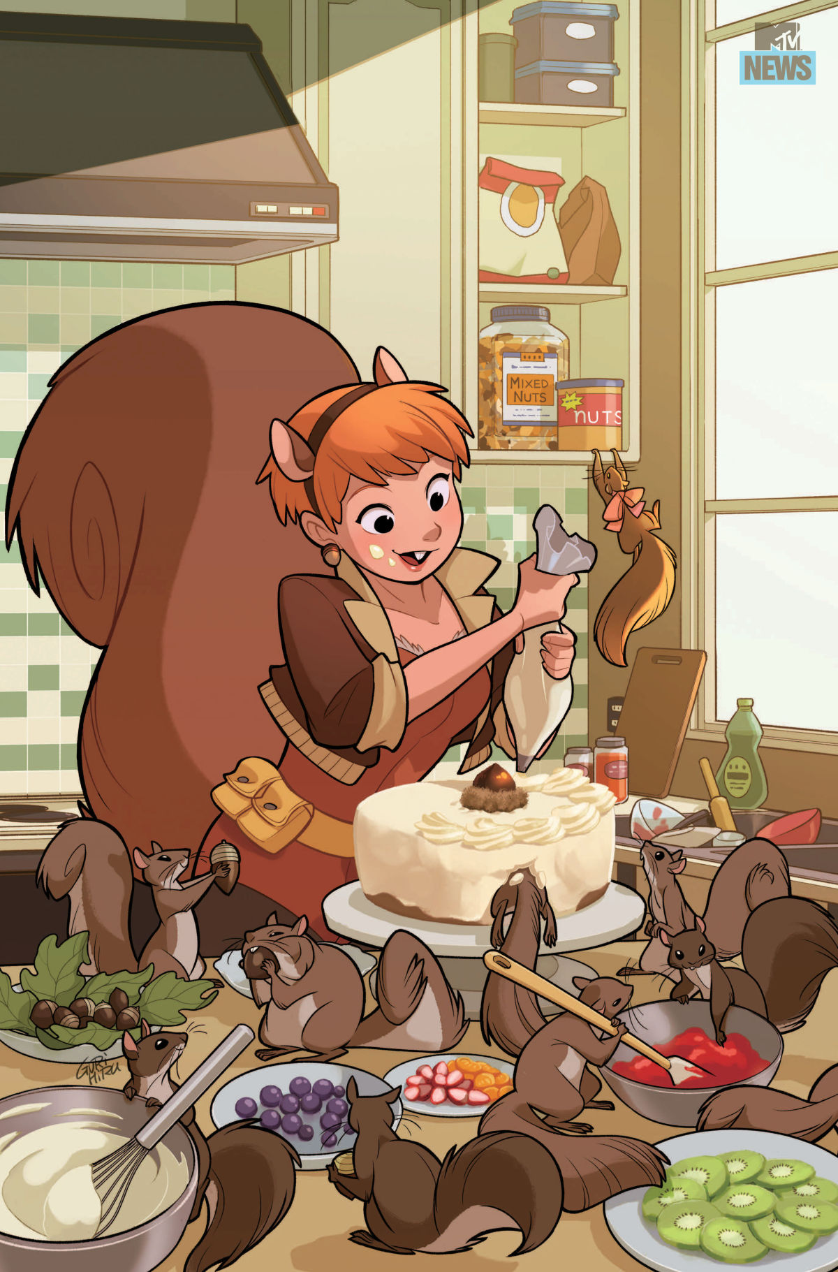 Unbeatable Squirrel Girl #3 - Gurihiru