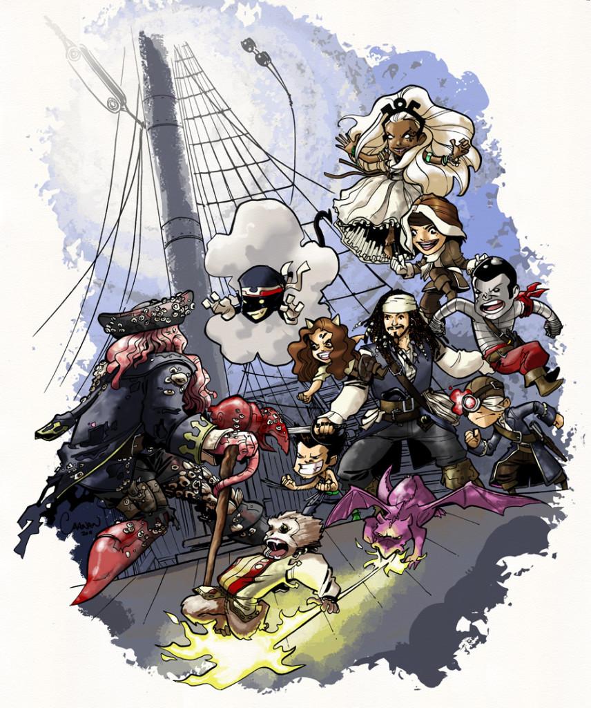 X-Babes piraci