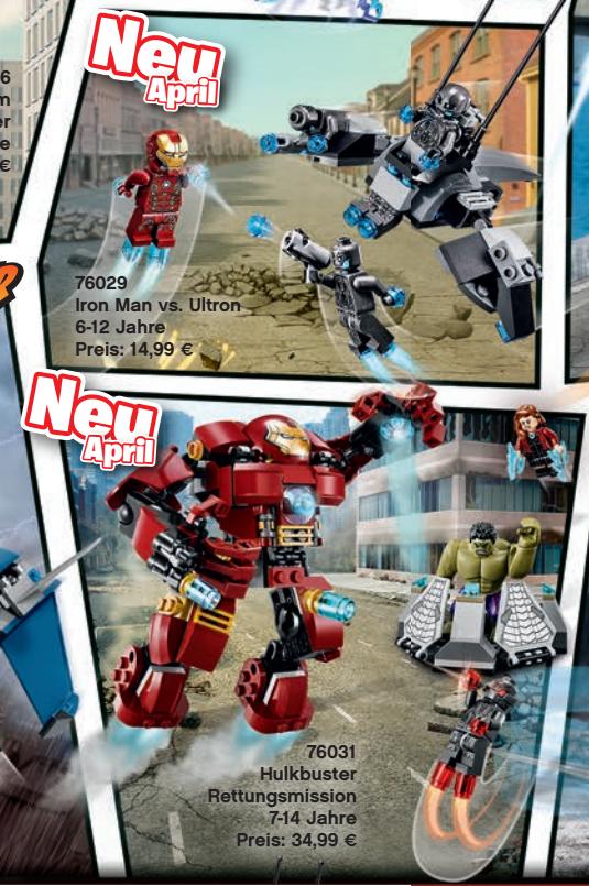 Nadchodzą Lego Avengers 2