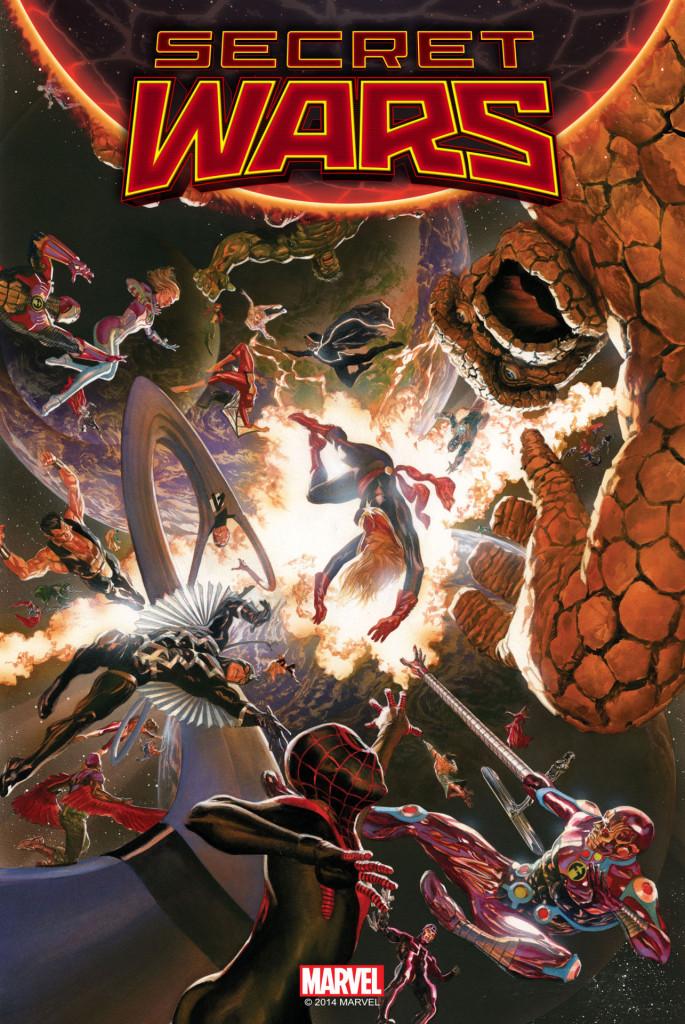 Secret Wars #1 Cover Rys Alex Ross