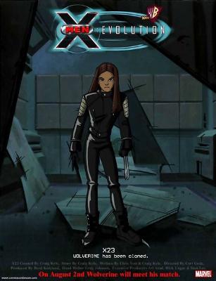 X-23 w X-Men Evolution