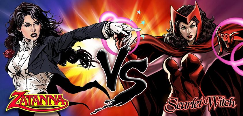 Zatanna vs Scarlet Witch