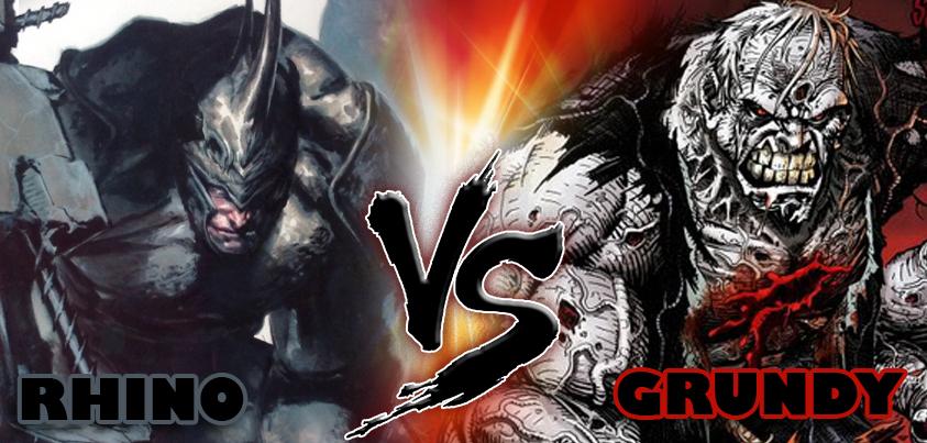 Grundy vs Rhino