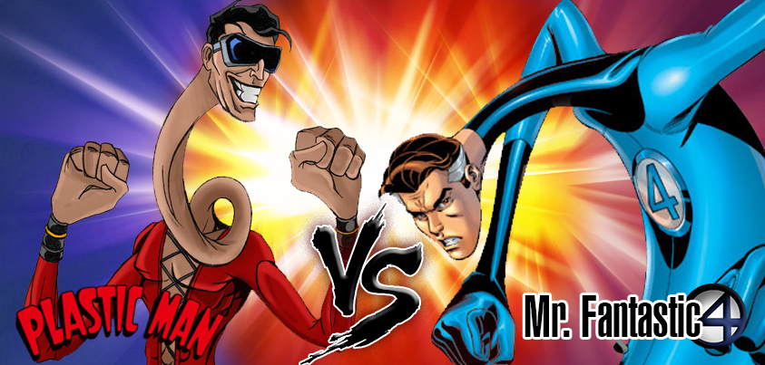 Plastic Man vs Mr fantastic