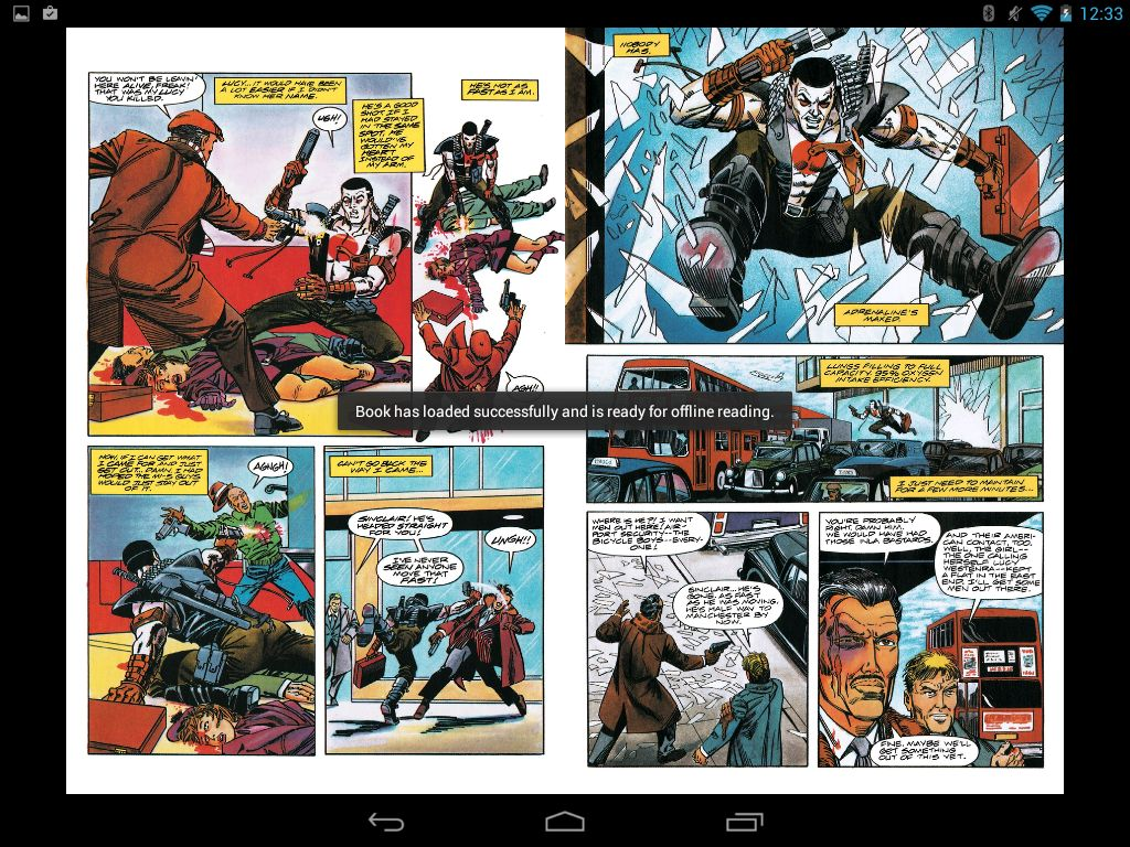 komiksy szybko się sciągają