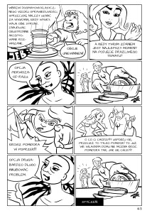 Fetysz Mózgu - powieść graficzna