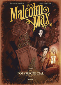 Malcolm Max - Scream Comics