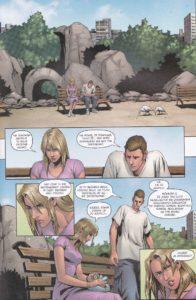 Grimm Fairy Tales - Rumpelsztyk - plansza z komiksu