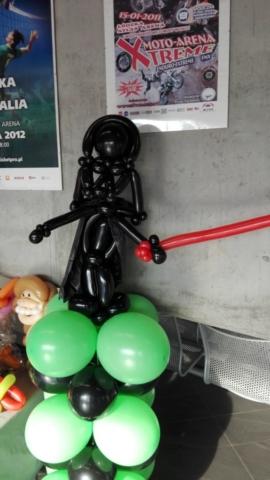 Balonowy Darth Vader - MFKiG 2016