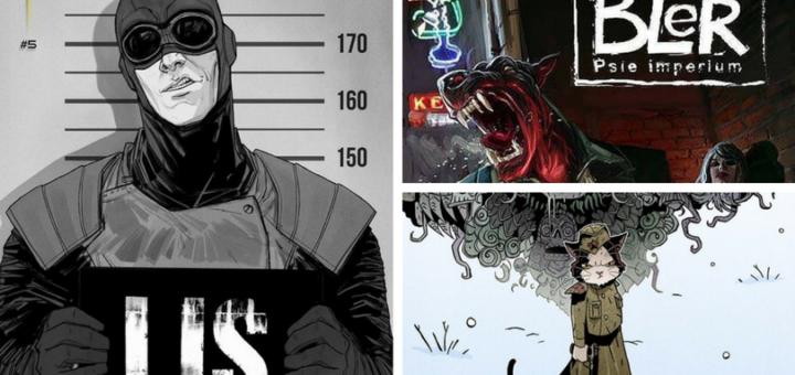Polski komiks - Co w seriach piszczy