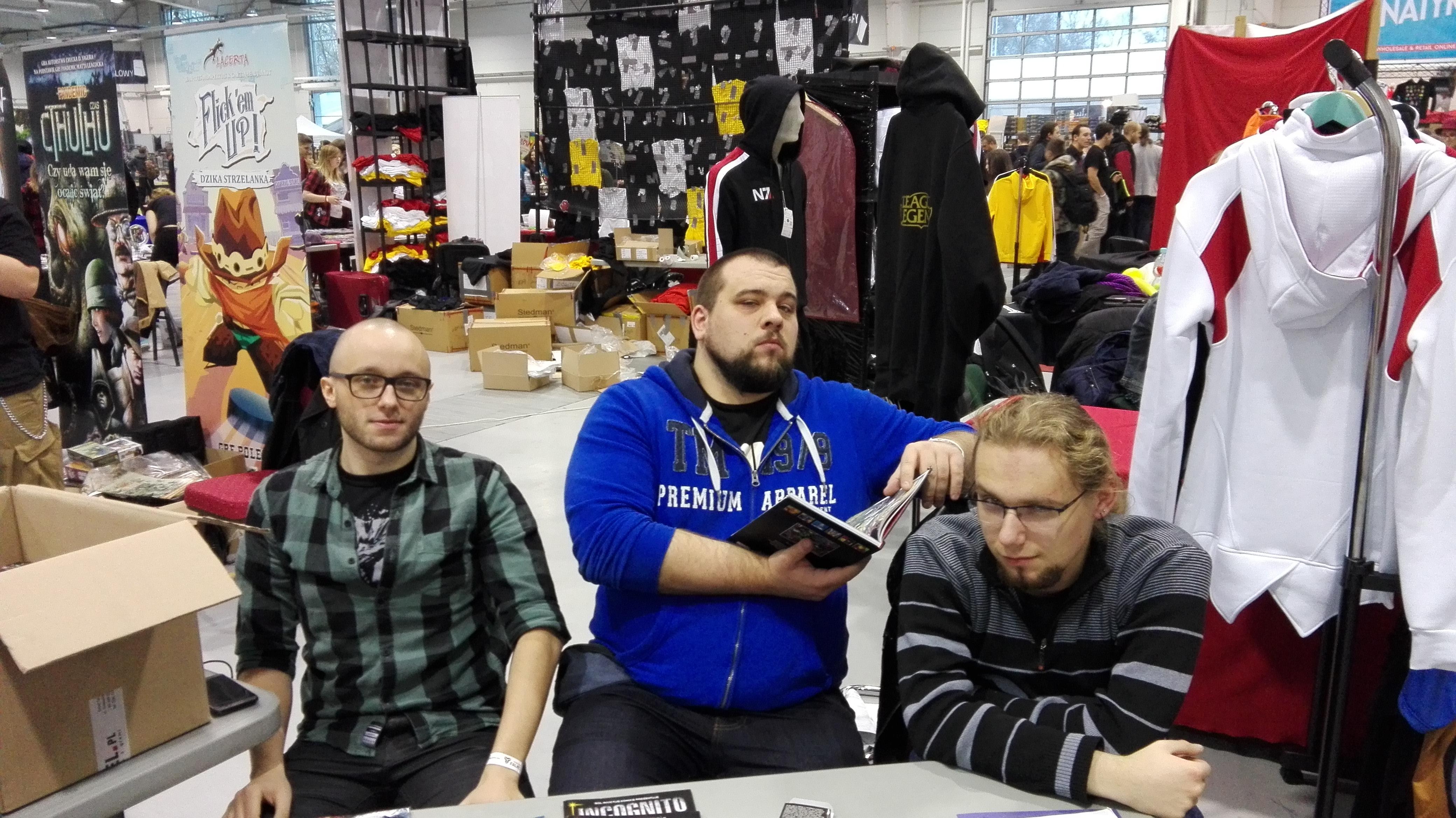 Fakon 2016 - Autorzy polskich komiksów Lis i Incognito