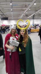 Lady Thor i Lady Loki - Falkon 2016