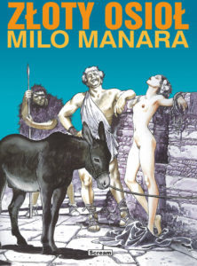 Złoty Osioł - Milo Manara - okładka