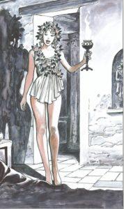Złoty Osioł - kadr z komiksu