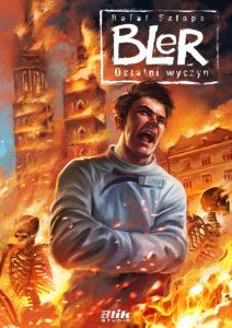 Okładka drugiego wydania komiksu Bler - Ostatni wyczyn
