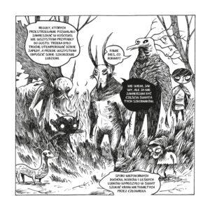 Kościsko - plansza komiksu