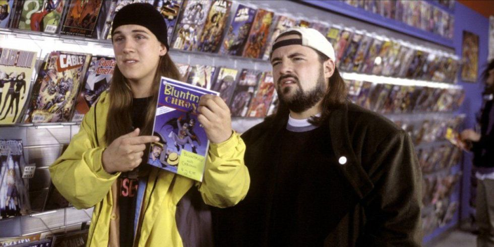 Jay and Silent Bob Mallrats - komiks superbohaterski