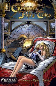 Okładka zeszytu Grimm Fairy Tales - Śpiąca Królewna