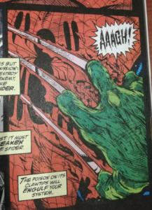 Przykładowy kadr z komiksu Spider-Man - Torment