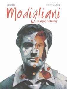 Okładka komiksu - Modigliani - Książę Bohemy