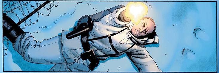 Kadr z komiksu Jam jest legion