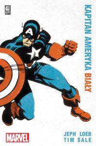 Okładka komiksu - Kapitan Ameryka Biały