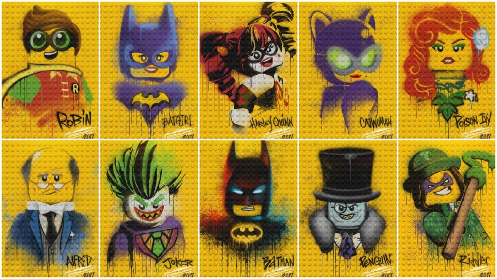 Postacie Lego Batman