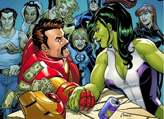 She-Hulk vs Ironman