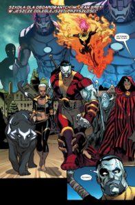 X-Men - Bitwa atomu - plansza