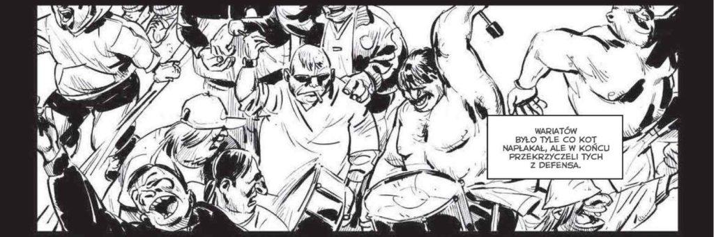 Komiks Barras - przykładowy kadr