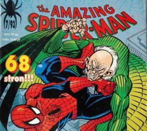 Spider-man - Wzloty i upadki sępa