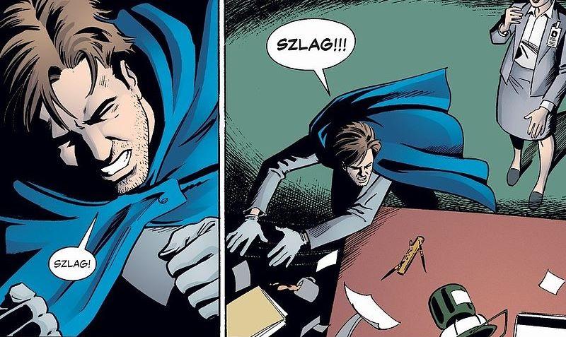 Kadr z komiksu Y ostatni z mężczyzn