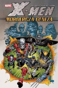 Okładka komiksu X-men - Mordercza geneza