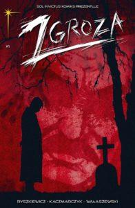 Zgroza - Lód - okładka komiksu