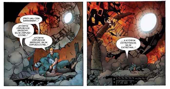 Przykładowy kadr z komiksu Anihilacja