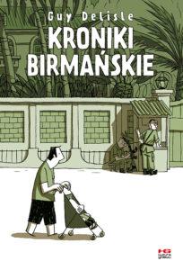 Kroniki Birmańskie - okładka komiksu