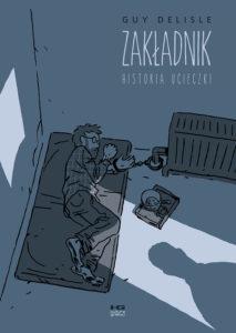 Zakładnik - okładka komiksu