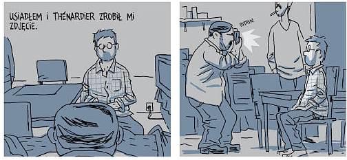 Zakładnik komiks
