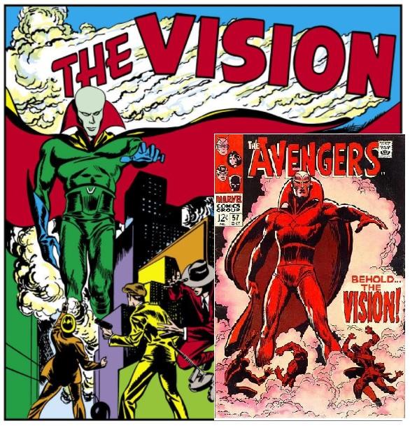 historia marvela vision