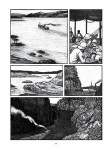 Plansza z komiksu Kongo
