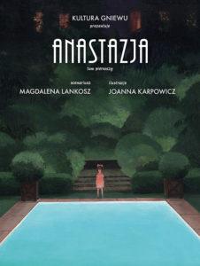 Okładka komiksu Anastazja